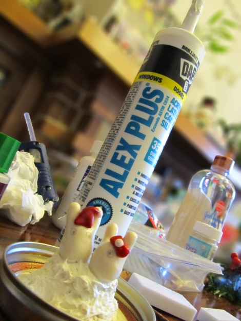 DIY: Mason Jar Snow Globes