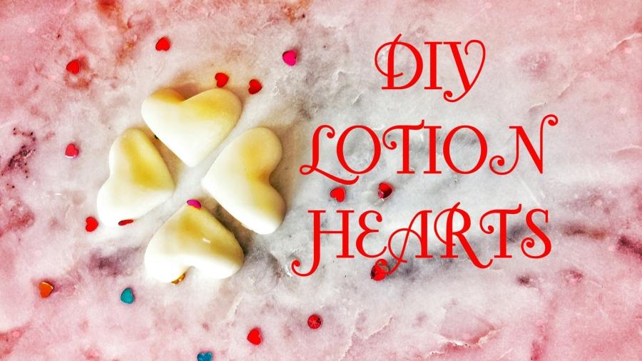 DIY Valentine LotionHearts