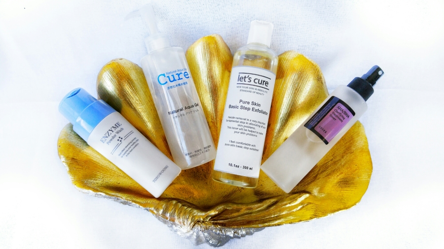 Chemical Exfoliators Favorites: Peeling Gels, Enzyme Wash, Actives