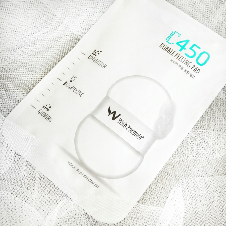Wish Formula C450 Bubble Peeling Pad (Body)